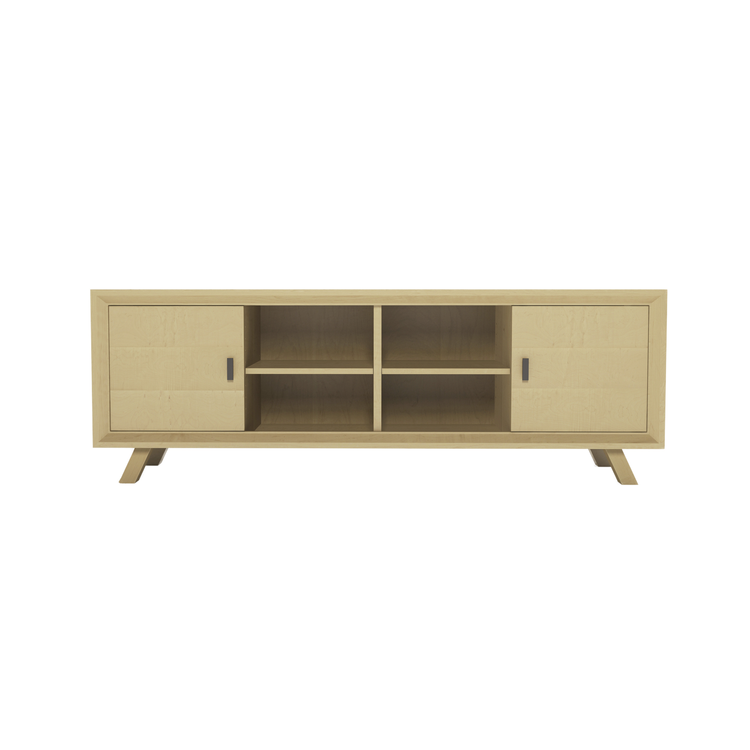 Series 555 Media Cabinet With Two Doors At 72″ In Width