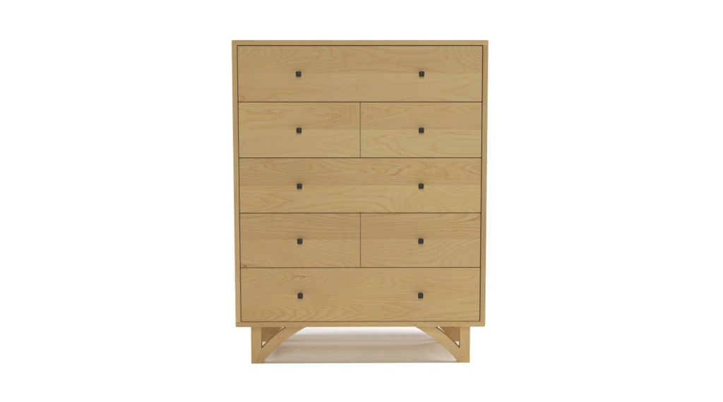 Seven Drawer Danish Dresser