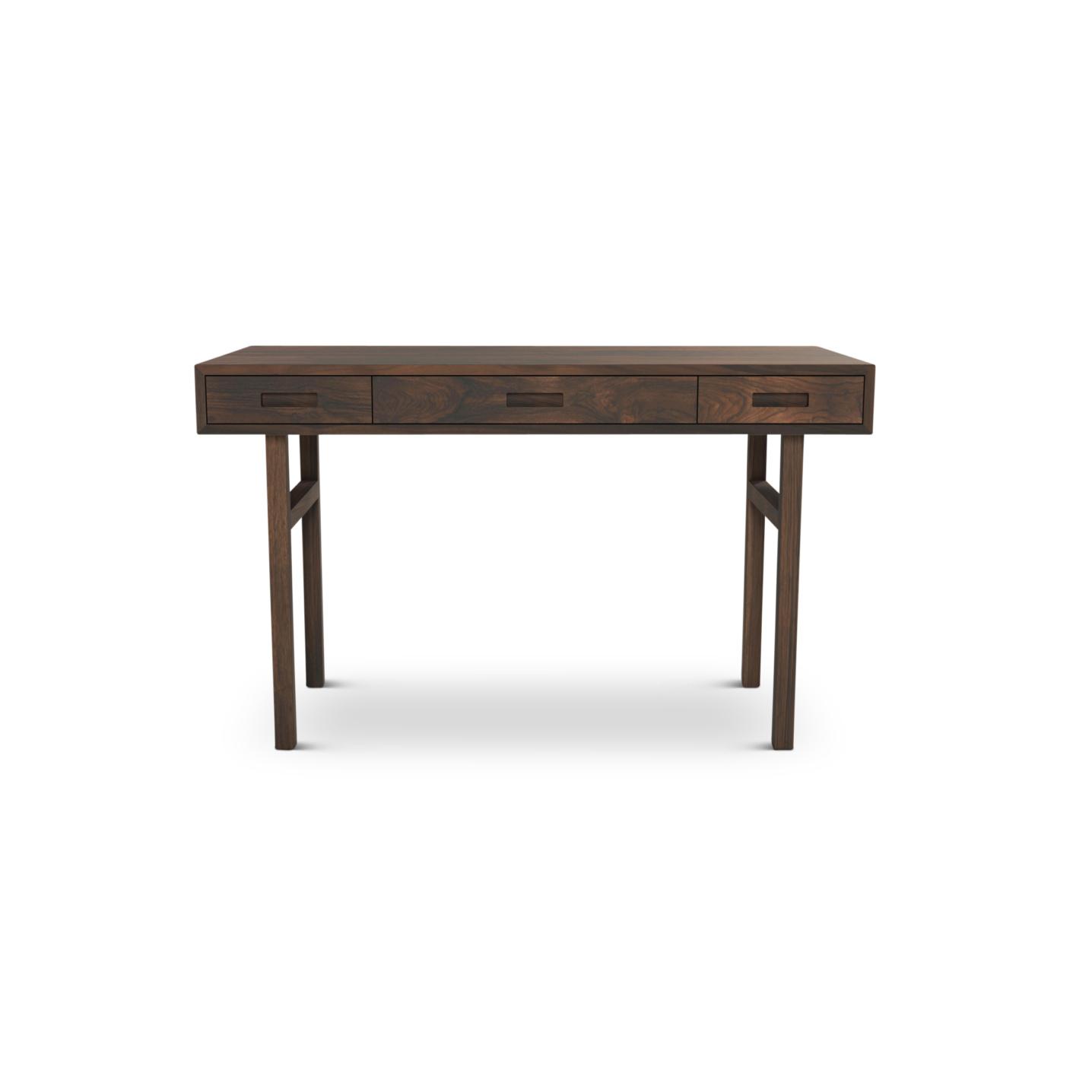 Tre Walnut Contemporary desk