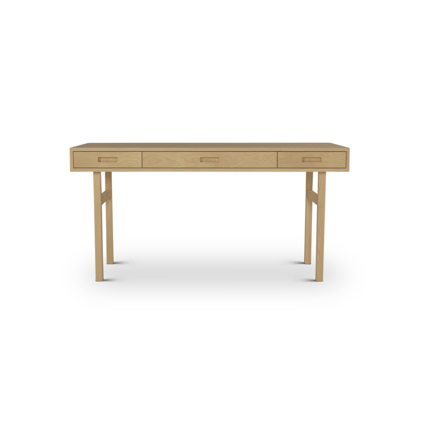 Ash Wooden Desk