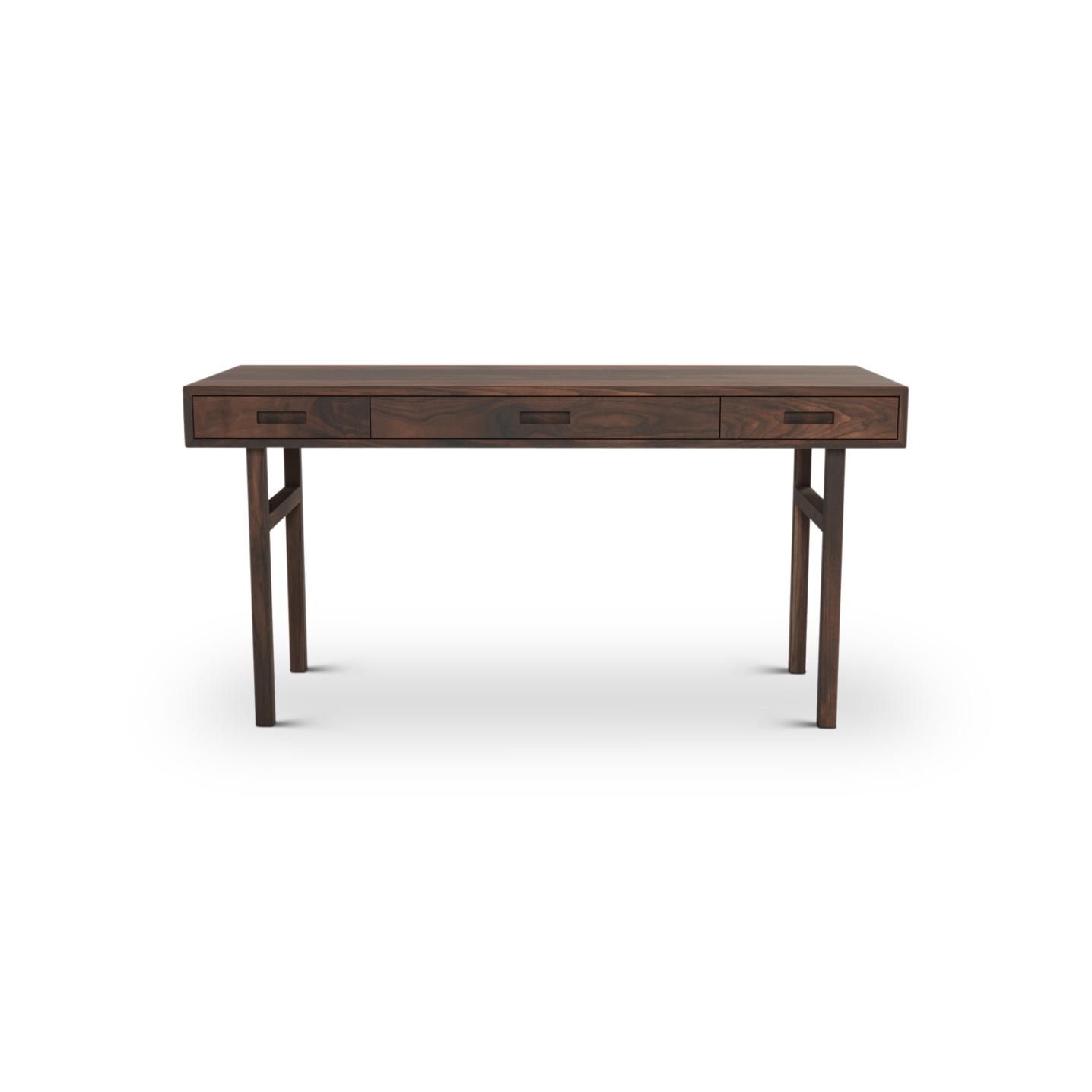 Scandinavian Desk in Walnut