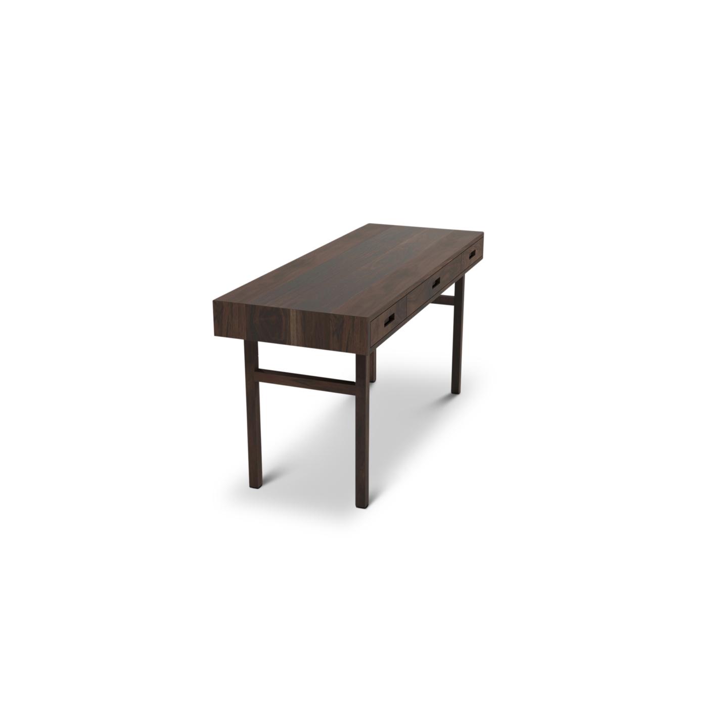 Modern Desk in Walnut