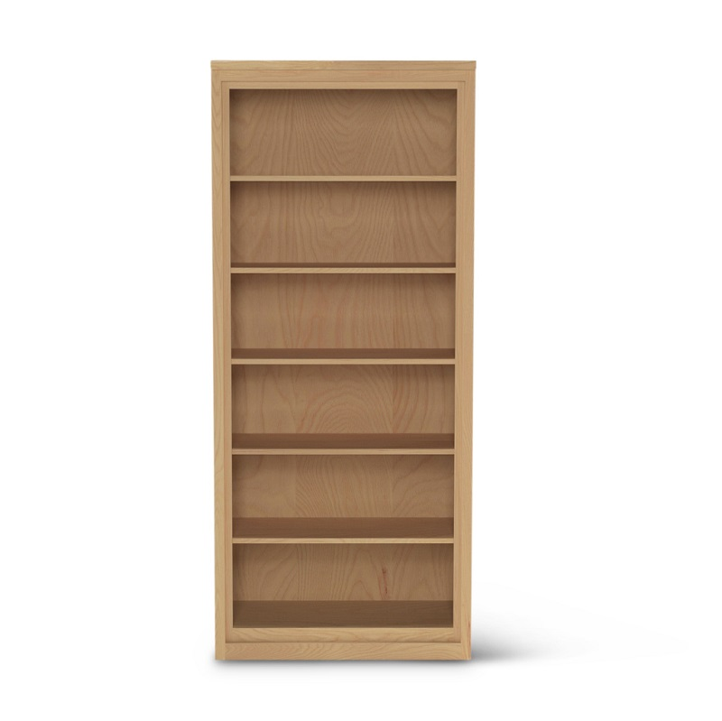 Tall Bureau ash wood contemporary bookshelf
